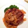 Filets mignons au jus de carottes