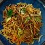 Noodles au bœuf-légumes et aux Epices Rabelais